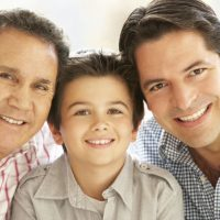 Men's Health Week-three generations image