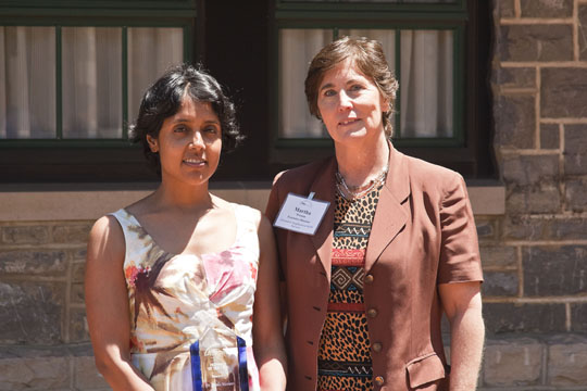 Provider of the Year Dr. Geetha Mathew of Alexandria Neighborhood HS