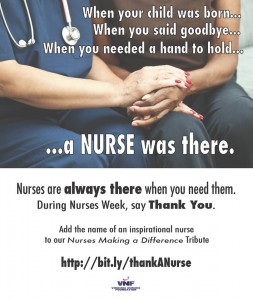 vnf thank a nurse