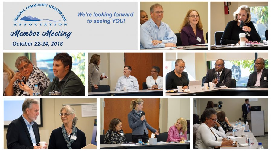 a collage of the 2017 October Meeting